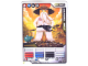 Gear No: 4621849  Name: Ninjago Masters of Spinjitzu Deck #1 Game Card 16 - Sensei Wu (White Outfit) - North American Version