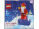 Gear No: 4624977  Name: Magnet Set, Minifigure Holiday Santa Magnet 2010 polybag