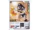 Gear No: 4631386  Name: Ninjago Masters of Spinjitzu Deck #1 Game Card 15 - Kruncha - International Version