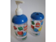 Gear No: 4638546  Name: Bath Soap Dispenser Set - Classic Bricks Pattern