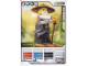 Gear No: 4642684  Name: Ninjago Masters of Spinjitzu Deck #1 Game Card *7 - Sensei Wu (Black Outfit) - International Version