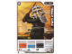 Gear No: 4643427  Name: Ninjago Masters of Spinjitzu Deck #2 Game Card 15 - Kendo Cole - International Version
