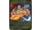 Gear No: 4643429  Name: Ninjago Masters of Spinjitzu Deck #2 Game Card 73 - Flash 'n' Burn - International Version