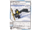 Gear No: 4643434  Name: Ninjago Masters of Spinjitzu Deck #2 Game Card 101- White Out - International Version