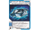Gear No: 4643435  Name: Ninjago Masters of Spinjitzu Deck #2 Game Card 48 - Crown of Lightning - International Version