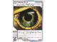 Gear No: 4643455  Name: Ninjago Masters of Spinjitzu Deck #2 Game Card 104 - Falcon Eye - International Version