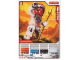 Gear No: 4643457  Name: Ninjago Masters of Spinjitzu Deck #2 Game Card 6 - Snappa - International Version