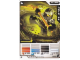 Gear No: 4643462  Name: Ninjago Masters of Spinjitzu Deck #2 Game Card 14 - Cole ZX - International Version