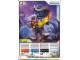 Gear No: 4643467  Name: Ninjago Masters of Spinjitzu Deck #2 Game Card 22 - Rattla - International Version
