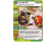 Gear No: 4643474  Name: Ninjago Masters of Spinjitzu Deck #2 Game Card 114 - Extinguish - International Version