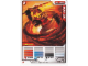 Gear No: 4643477  Name: Ninjago Masters of Spinjitzu Deck #2 Game Card 2 - Kai ZX - International Version