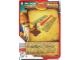 Gear No: 4643478  Name: Ninjago Masters of Spinjitzu Deck #2 Game Card 31 - Gates of Fire! - International Version