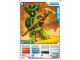Gear No: 4643502  Name: Ninjago Masters of Spinjitzu Deck #2 Game Card 12 - Spitta - International Version