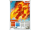 Gear No: 4643517  Name: Ninjago Masters of Spinjitzu Deck #2 Game Card 4 - NRG Kai - International Version