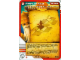 Gear No: 4643518  Name: Ninjago Masters of Spinjitzu Deck #2 Game Card 35 - Rings of Fire! - International Version