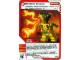 Gear No: 4643519  Name: Ninjago Masters of Spinjitzu Deck #2 Game Card 37 - Spitfire Snake - International Version