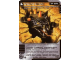 Gear No: 4643528  Name: Ninjago Masters of Spinjitzu Deck #2 Game Card 77 - Ground Attack - International Version