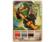Gear No: 4643537  Name: Ninjago Masters of Spinjitzu Deck #2 Game Card 1 - Lloyd ZX - International Version