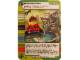 Gear No: 4643540  Name: Ninjago Masters of Spinjitzu Deck #2 Game Card 117 - Premonition - International Version