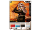 Gear No: 4643601  Name: Ninjago Masters of Spinjitzu Deck #2 Game Card 15 - Kendo Cole - North American Version