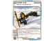 Gear No: 4643608  Name: Ninjago Masters of Spinjitzu Deck #2 Game Card 101 - White Out - North American Version