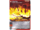 Gear No: 4643634  Name: Ninjago Masters of Spinjitzu Deck #2 Game Card 42 - Wildfire - North American Version