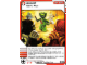 Gear No: 4643687  Name: Ninjago Masters of Spinjitzu Deck #2 Game Card 45 - Assist - North American Version