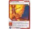 Gear No: 4643697  Name: Ninjago Masters of Spinjitzu Deck #2 Game Card 34 - Fire Fields - North American Version