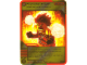 Gear No: 4643701  Name: Ninjago Masters of Spinjitzu Deck #2 Game Card 36 - Provoke Anger - North American Version