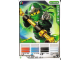Gear No: 4643708  Name: Ninjago Masters of Spinjitzu Deck #2 Game Card 1 - Lloyd ZX - North American Version
