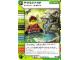 Gear No: 4643711  Name: Ninjago Masters of Spinjitzu Deck #2 Game Card 117 - Premonition - North American Version