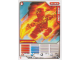 Gear No: 4643718  Name: Ninjago Masters of Spinjitzu Deck #2 Game Card 4 - NRG Kai - North American Version