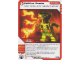 Gear No: 4643720  Name: Ninjago Masters of Spinjitzu Deck #2 Game Card 37 - Spitfire Snake - North American Version