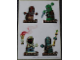 Gear No: 4647074  Name: Sticker, Heroica, Sheet of 4