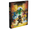 Gear No: 466518  Name: Binder, Ninjago Master Wu, 2-Ring Binder