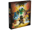 Gear No: 466716  Name: Binder, Ninjago Master Wu, 2-Ring Binder