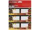 Gear No: 466754  Name: Sticker Sheet, School Book Labels (Bookplates) Ninjago Master Wu