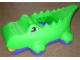 Gear No: 49767  Name: Duplo Block-o-dile Body without Top Brick (Alligator / Crocodile)