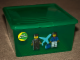 Gear No: 498783green  Name: Storage Box Modular Medium Green Airport