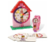 Gear No: 5001371  Name: Clock Set, Time-Teacher Minifigure Watch and Clock, Girl