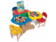 Gear No: 5003468  Name: 3-Seat Playtable Creative Play Station Center Pack