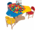 Gear No: 5003483  Name: 3-Seat Playtable Creative Play Station Center Pack Duplo