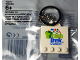 Gear No: 5004201  Name: FIRST LEGO League (FLL) Key Chain - Trash Trek Coach (6124801)