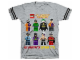Gear No: 5004304  Name: T-Shirt, DC Super Heroes, All Mixed Up In Gotham City!
