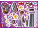 Gear No: 5005238stk01  Name: Sticker Sheet for Set 5005238