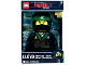 Gear No: 5005368  Name: Digital Clock, The LEGO Ninjago Movie Lloyd Figure Alarm Clock