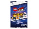 Gear No: 5005775  Name: Cards, The LEGO Movie 2, Pack of 4 (English / French)