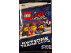 Gear No: 5005796  Name: Cards, The LEGO Movie 2, Pack of 4 (English)