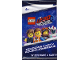 Gear No: 5005803  Name: Cards, The LEGO Movie 2, Pack of 4 (Polish)