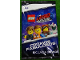 Gear No: 5005804  Name: Cards, The LEGO Movie 2, Pack of 4 (Spanish)